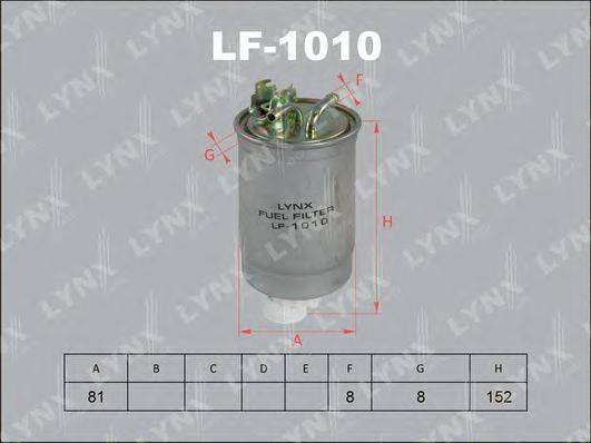 LYNXAUTO LF1010 Топливный фильтр