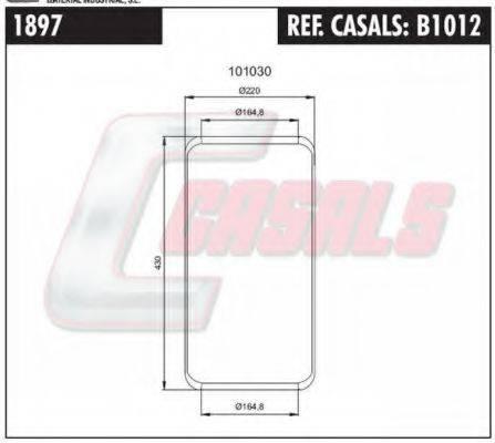 CASALS B1012 Кожух пневматической рессоры
