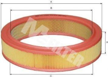 MFILTER A123 Воздушный фильтр