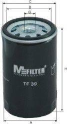 MFILTER TF39 Фильтр масляный ДВС