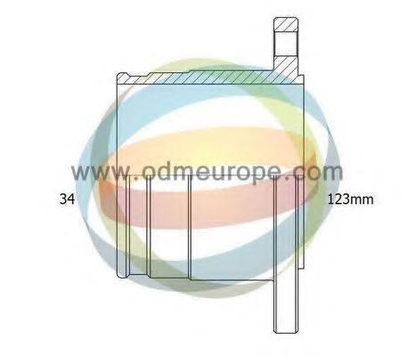 ODM-MULTIPARTS 14216074 ШРУС с пыльником