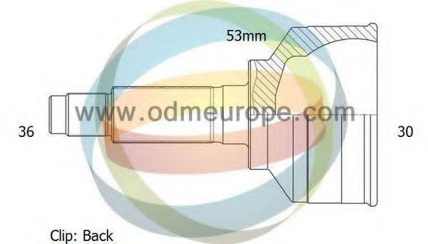 ODM-MULTIPARTS 12211796 ШРУС с пыльником
