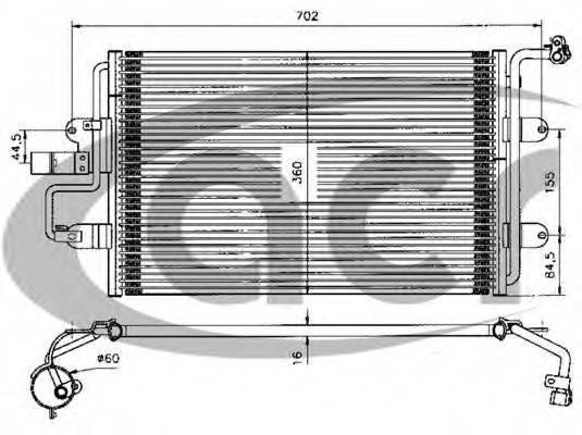 ACR 300046 Конденсатор кондиционера