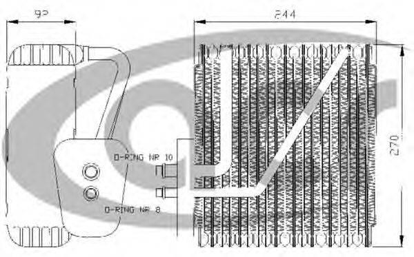 ACR 310005 Испаритель кондиционера