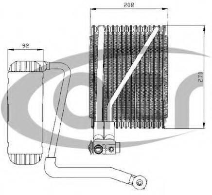 ACR 310030 Испаритель кондиционера