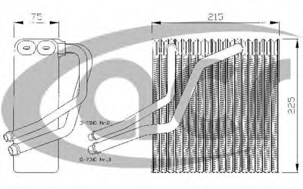 ACR 310130 Испаритель кондиционера