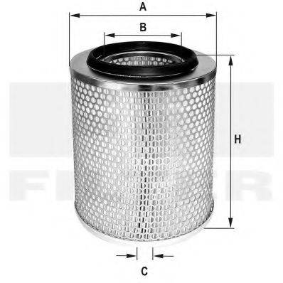 FIL FILTER HP677 Воздушный фильтр