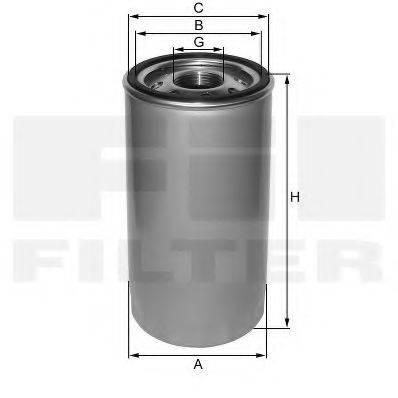 FIL FILTER ZP523A2 Фильтр масляный ДВС