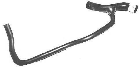 METALCAUCHO 07932 Шланг радиатора