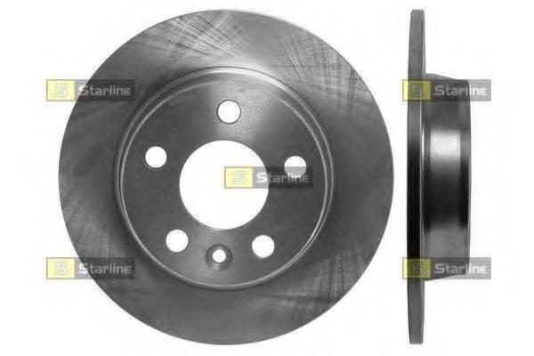 STARLINE PB1216 Тормозной диск