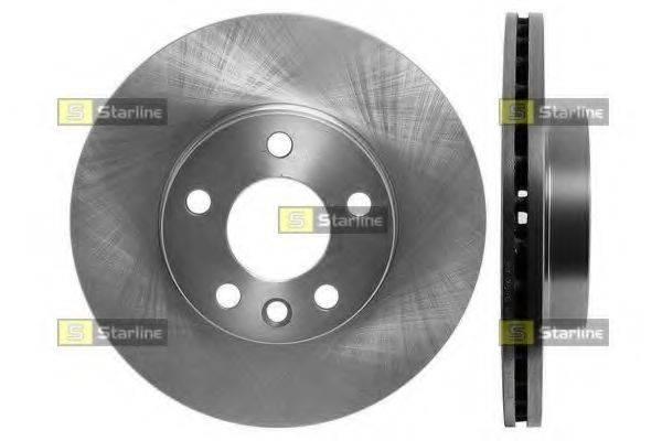 STARLINE PB2536 Тормозной диск