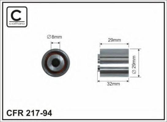 CAFFARO 21794 Обводной ролик ремня ГРМ