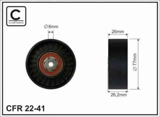 CAFFARO 2241 Обводной ролик