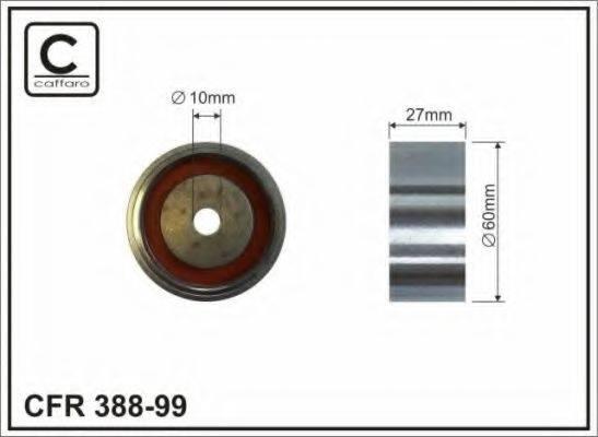CAFFARO 38899 Обводной ролик ремня ГРМ