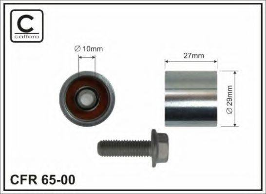 CAFFARO 6500 Обводной ролик ремня ГРМ