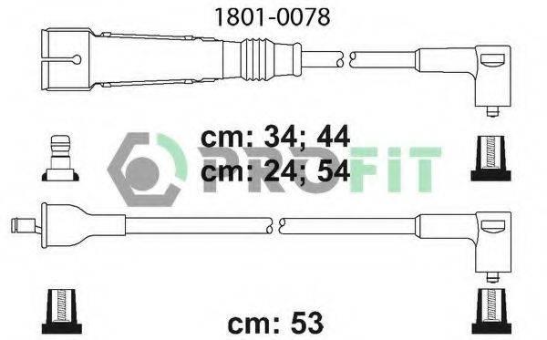 PROFIT 18010078 Комплект проводов зажигания