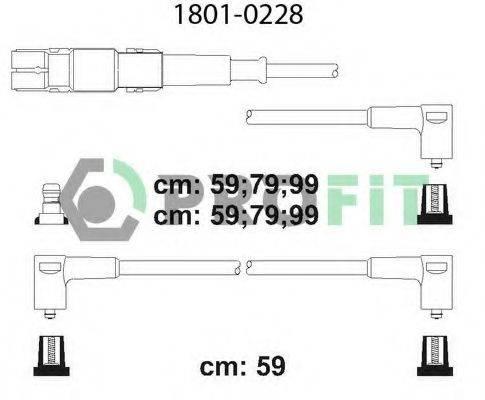 PROFIT 18010228 Комплект проводов зажигания