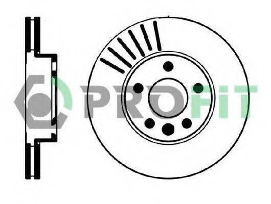 PROFIT 50100846 Тормозной диск