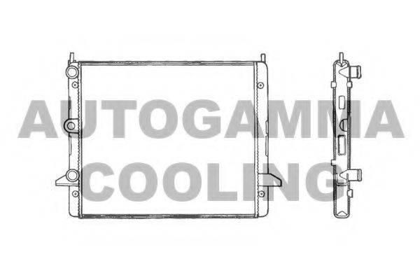 AUTOGAMMA 100359 Радиатор охлаждения двигателя