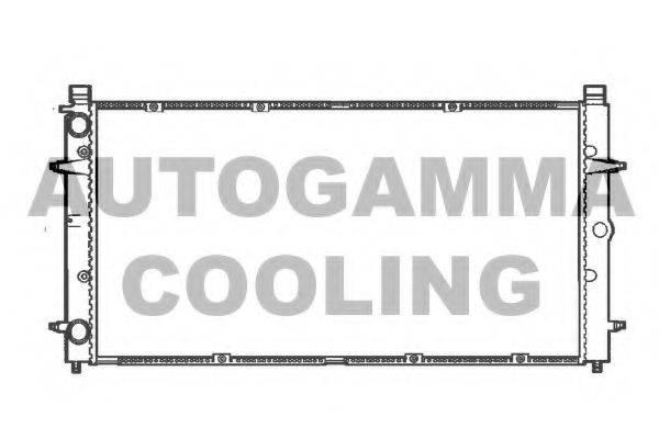 AUTOGAMMA 101414 Радиатор охлаждения двигателя