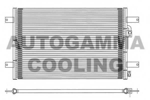 AUTOGAMMA 101691 Конденсатор кондиционера