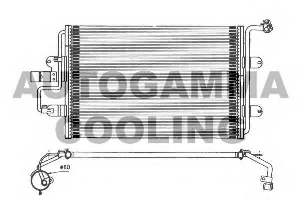 AUTOGAMMA 101720 Конденсатор кондиционера