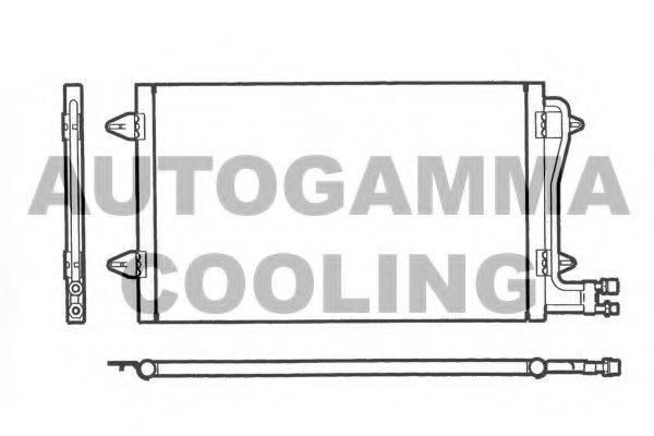 AUTOGAMMA 101733 Конденсатор кондиционера