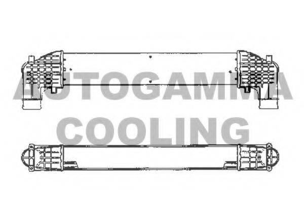 AUTOGAMMA 101965 Интеркулер