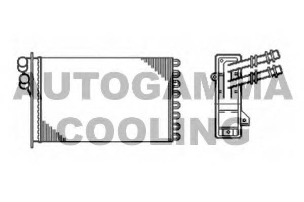 AUTOGAMMA 102422 Радиатор печки