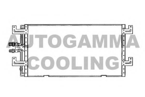 AUTOGAMMA 102824 Конденсатор кондиционера