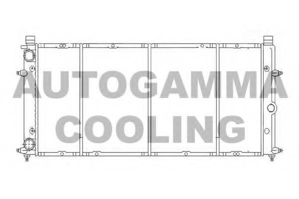 AUTOGAMMA 103068 Радиатор охлаждения двигателя