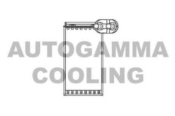 AUTOGAMMA 103329 Радиатор печки