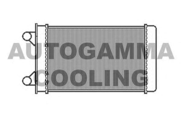 AUTOGAMMA 105122 Радиатор печки