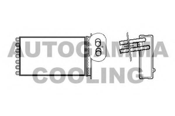 AUTOGAMMA 105655 Радиатор печки