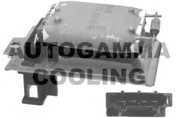 AUTOGAMMA GA15129 Сопротивление, вентилятор салона