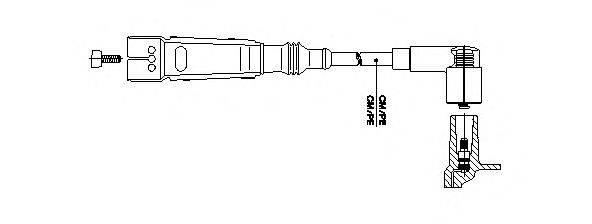 BREMI 11150 Провод зажигания