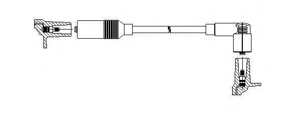 BREMI 11530 Провод зажигания