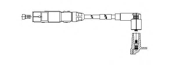 BREMI 19254 Провод зажигания