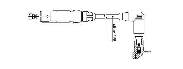 BREMI 21026 Провод зажигания