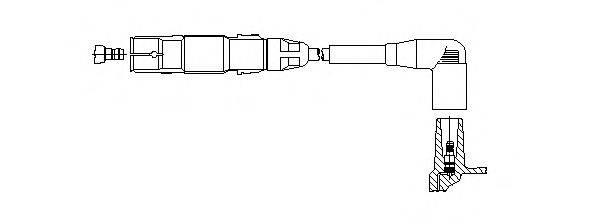 BREMI 210E47 Провод зажигания