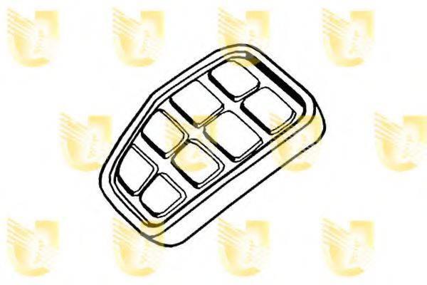 UNIGOM 155032 Педальные накладка, педаль тормоз