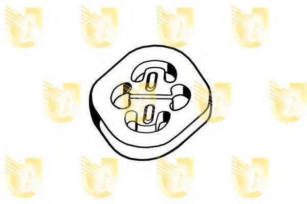 UNIGOM 165102 Резиновые полоски, система выпуска