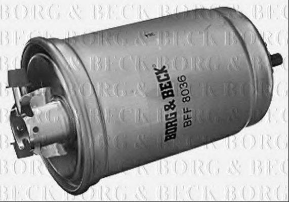 BORG & BECK BFF8036 Топливный фильтр