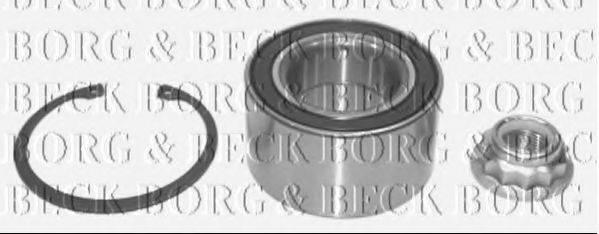 BORG & BECK BWK719 Подшипник ступицы