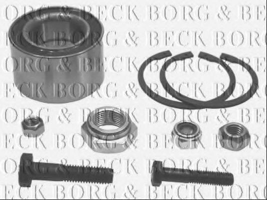 BORG & BECK BWK040 Подшипник ступицы