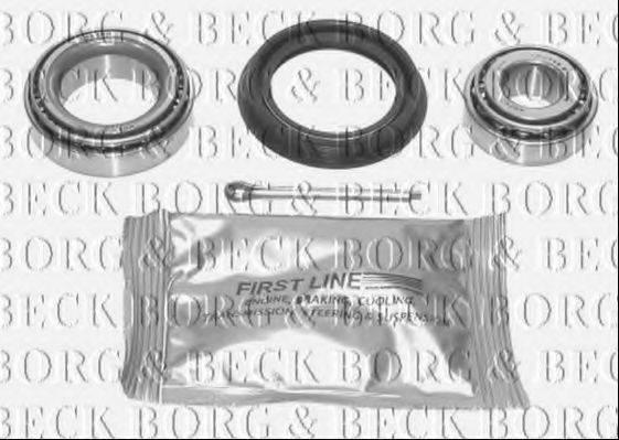 BORG & BECK BWK041 Подшипник ступицы