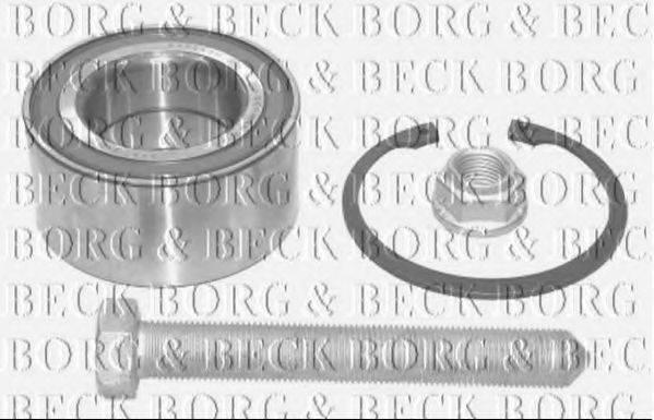 BORG & BECK BWK514 Подшипник ступицы