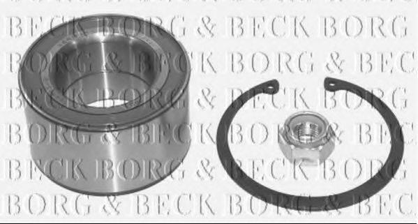 BORG & BECK BWK702 Подшипник ступицы