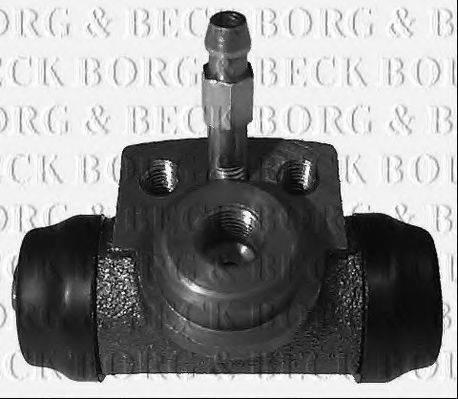 BORG & BECK BBW1267 Колесный тормозной цилиндр