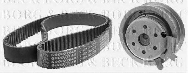 BORG & BECK BTK1002 Комплект ремня ГРМ